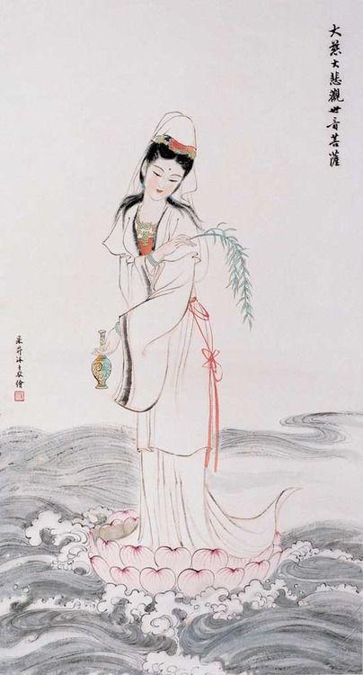 Kuan Yin, Patron Saint of Merchants