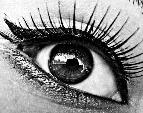 I've always had this obsession with the human eye. Not one is identical to another and they really are the windows to a human's soul.