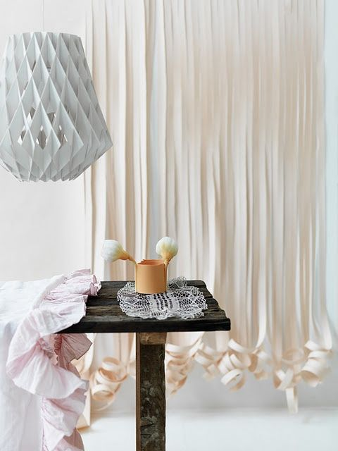 Flecos rizados #Decorar con flecos #Fringe string curtains Ideas para #decorar con flecos #Fringe #string #curtains #design