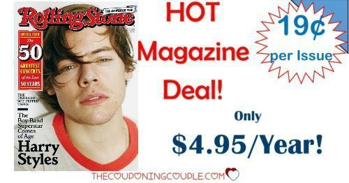 HOT MAGAZINE DEAL! Grab Rolling Stone Magazine for only $4.95/year! That is only $0.19 per issue! Snag it now while the price is so low!  Click the link below to get all of the details ► http://www.thecouponingcouple.com/rolling-stone-magazine-only-4-99year-95-off-cover-price/ #Coupons #Couponing #CouponCommunity  Visit us at http://www.thecouponingcouple.com for more great posts!