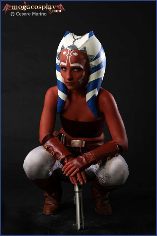 The primary protagonist of 2008's animated Star Wars: The Clone Wars movie, Ahsoka Tano gets brought to life in this stunning cosplay by Italian cosplayer Gabriella Orefice. Description from craiglotter.co.za. I searched for this on bing.com/images