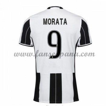 Camisetas De Futbol Juventus Morata 9 Primera Equipación 2016-17