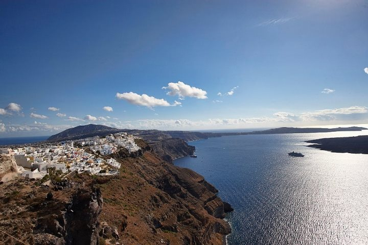 Santorini, Cyclades islands, Greece