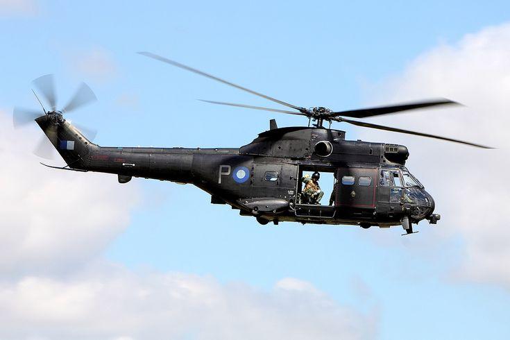 ZJ955/P Puma HC2, 230 Squadron, RAF Benson. | par Stuart Freer - Touchdown Aviation