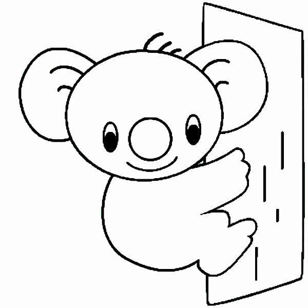 Koala Bear Coloring Page Luxury Koala Bear Drawing At Getdrawings In 2020 Bear Coloring Pages Coloring Pages Detailed Coloring Pages