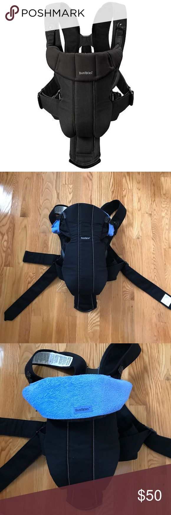 "Baby Bjorn Active black Baby Bjorn Active black. Excellent condition. We used it only a few times. NO stains, rips, never had any ""baby accidents"". Comes from smoke and animal free house. Comes with the changing bib and the manual. BabyBjorn Accessories Bags"
