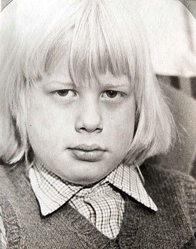 Boris Johnson, current mayor of London. I think he looks exactly the same.