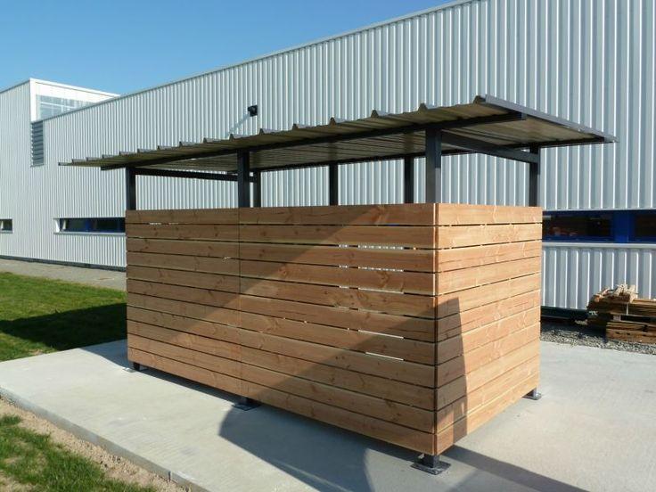 Abri conteneur Leduc: Abri Plus, fabricant de abris conteneur en sur mesure et modulable.