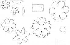 Бумажные цветы - элементы оформления поделок к Пасхе (+ВЫКРОЙКА) » Поделки своими руками для детей и взрослых: из бумаги, салфеток, ткани. Фигурки из овощей и фруктов, пасхальные яйца, игрушки