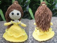 2000 Free Amigurumi Patterns: Princess Belle – Beauty and the Beast