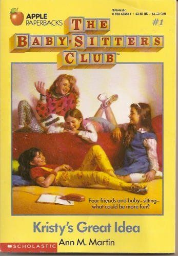 The Baby Sitters Club my favorite books!