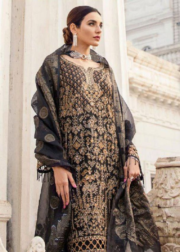 ccbac5f643 Shree Fabs Iznik Embroidery Collection Vol 3 Georgette With Heavy Embroidery  Suit 7033