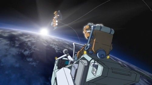 The art work on Planetes is amazing!