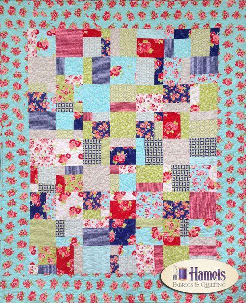 - Miss Kate Flannel Double Split Quilt Kit -