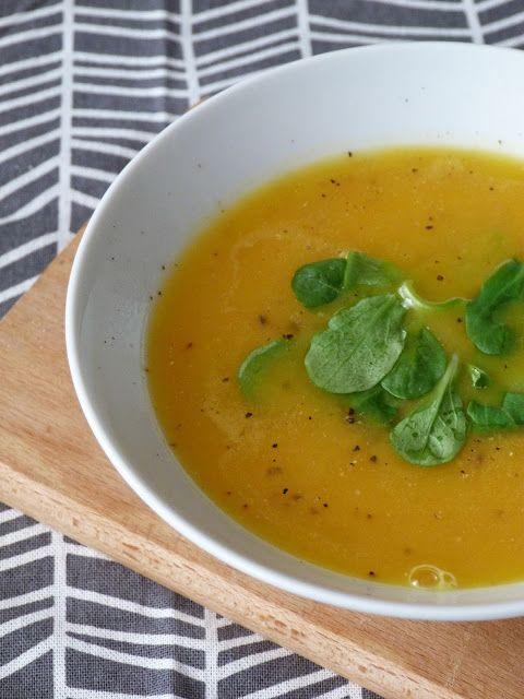 Kouzlo mého domova: Dýňová polévka se zázvorem