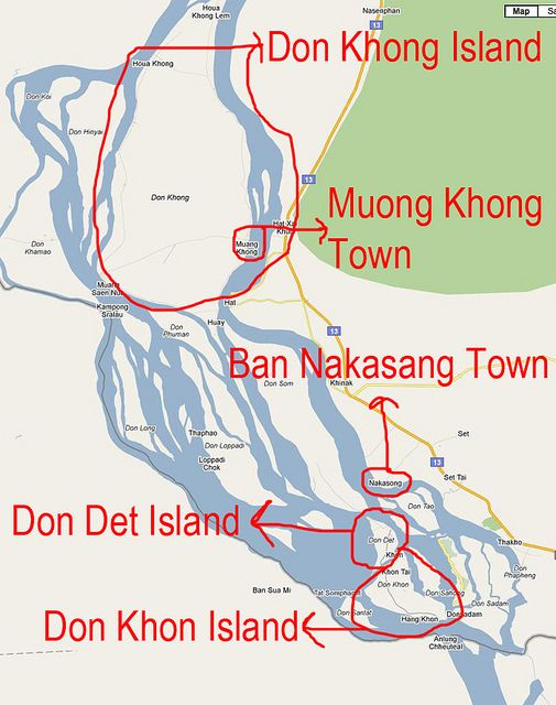 Guide to the 4000 Islands of Laos: Don Khong, Don Det, Don Khon (Part 1)