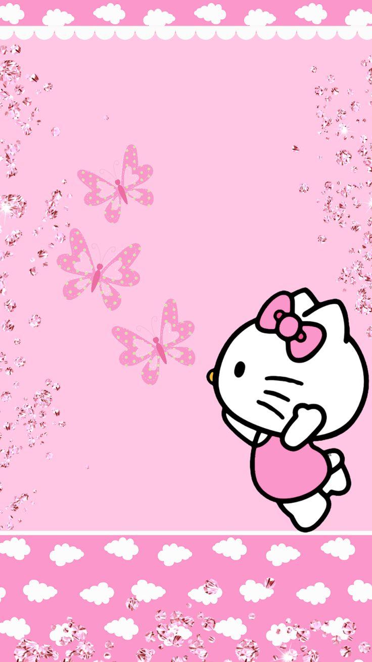 Hello Kitty Pink Cute Wallpaper Bergerak 1177 Best Hello Kitty 1 Images On Pinterest Hello Kitty