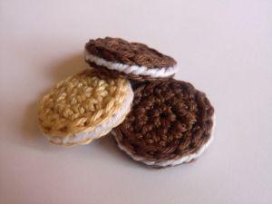 Sušenka, biscuit crochet pattern
