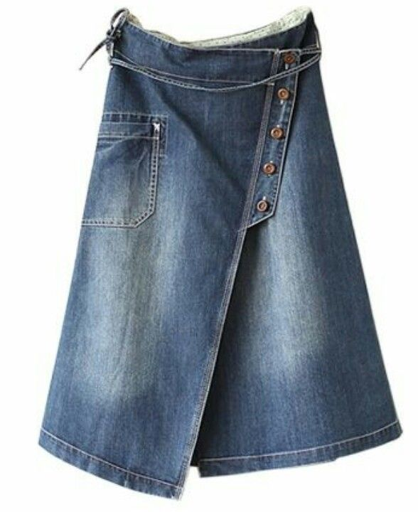Denim skirt info