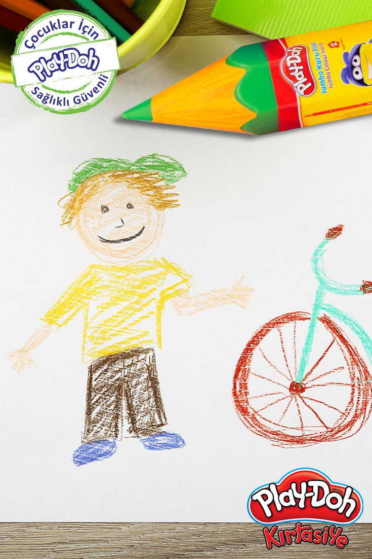 Hava güneşliyken daha eğlenceli! #playdohkirtasiye #playdoh #playdohstationery #stationery #kuruboya #jumbokuruboya #playdohjumbokuruboya #jumbocolourpencils  #playdohkuruboya #colourpencils #playdohcolourpencils #color #pencils #okul #school #okuladönüş #backtoschool #kids #çocuk #öğretmen #teacher #bisiklet