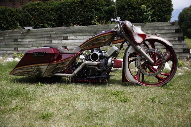 "eBay: Harley-Davidson Touring 2012 Street Glide Turbo 30"" big wheel bagger road glide king Custom show speed #harleydavidson"