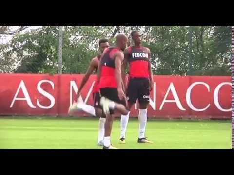 Arsenal transfer target Thomas Lemar trains with Monaco