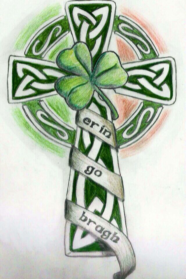 158 best images about st patrick 39 s day on pinterest for Irish canadian tattoos
