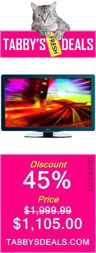 Philips 55PFL5705D/F7 55-Inch 1080p 240 Hz LCD HDTV with NetTV, Black