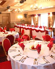 Red and White Wedding Table Decoration Ideas & 9 best Colour Schemes: Red Wedding Table Colour Scheme images on ...