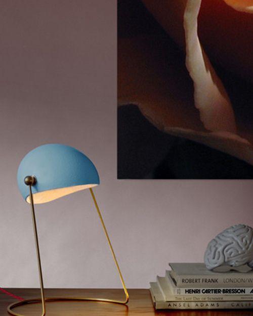 Reduxr - Olamp Desk #lighting  - Home Beautiful April 2015 - Interior Design Magazines - designlibrary.com.au