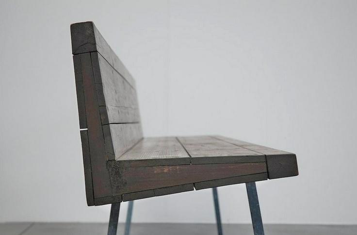Bench by Dom van der Laan