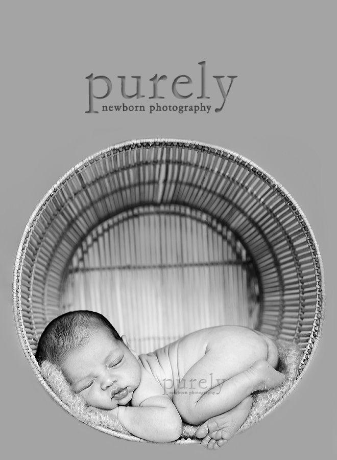 Adorable first newborn picture idea   Newborn pictures