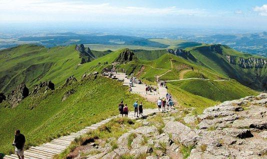 Parc des volcans d'Auvergne - Auvergne, France