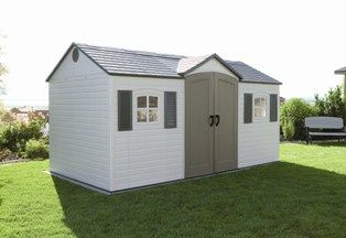 Lifetime Sheds: The perfect combination of strength, durability, & amazing features. http://www.shedtownusa.com/lifetime-vinyl-sheds-c-42.html