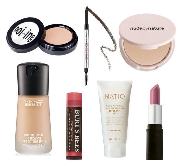 """""""Absolute Make Up Favourites"""" by beavercity on Polyvore featuring beauty, Burt's Bees, MAC Cosmetics, Benefit and Natio"""