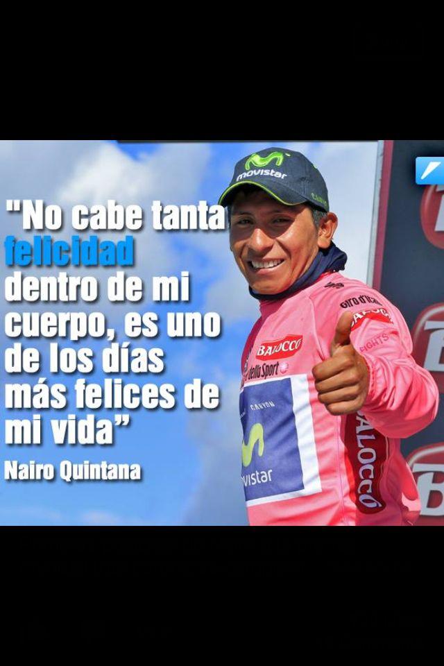 Nairo Quintana Campeon del Giro de Italia 2014 .