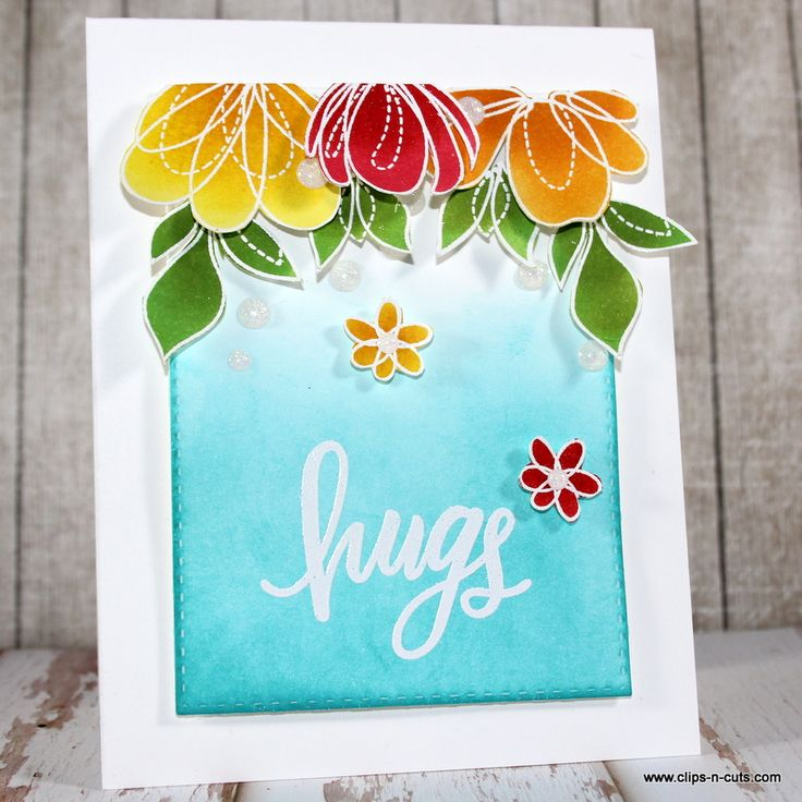 SSS Spring Flowers; Hugs; DIB; floral; bright; falling flowers; SSS Fave