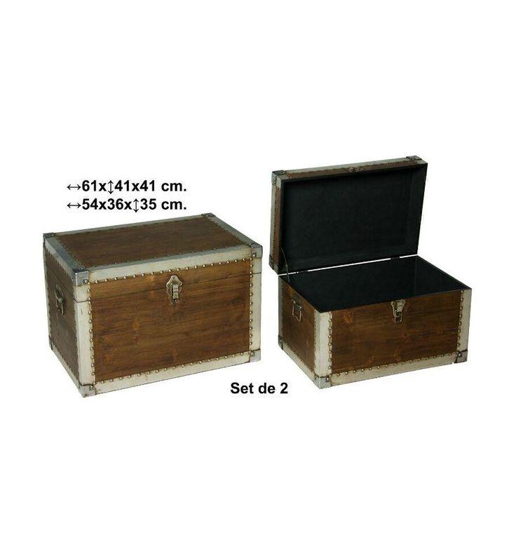 Mejores 34 im genes de baules y cajas en pinterest cajas - Baules baratos madera ...