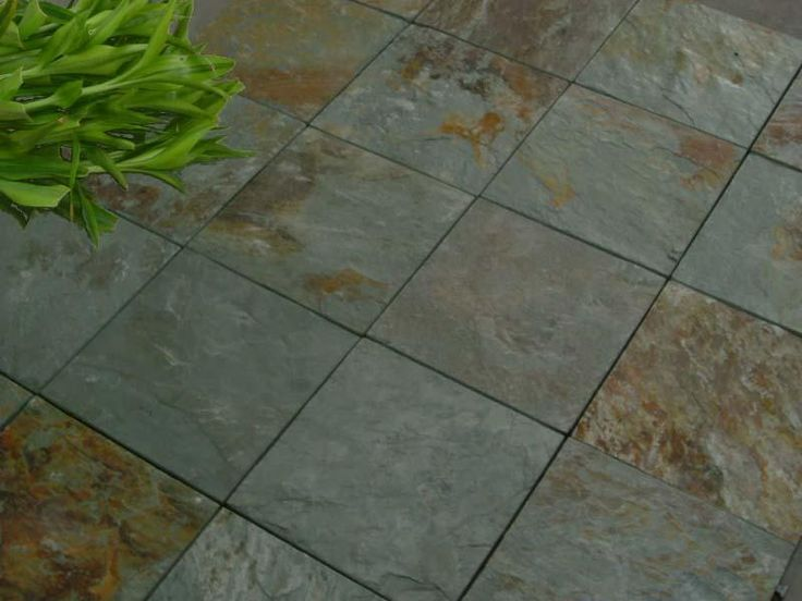 9 best slate patios and stepping stones images on pinterest ... - Patio Tile Ideas