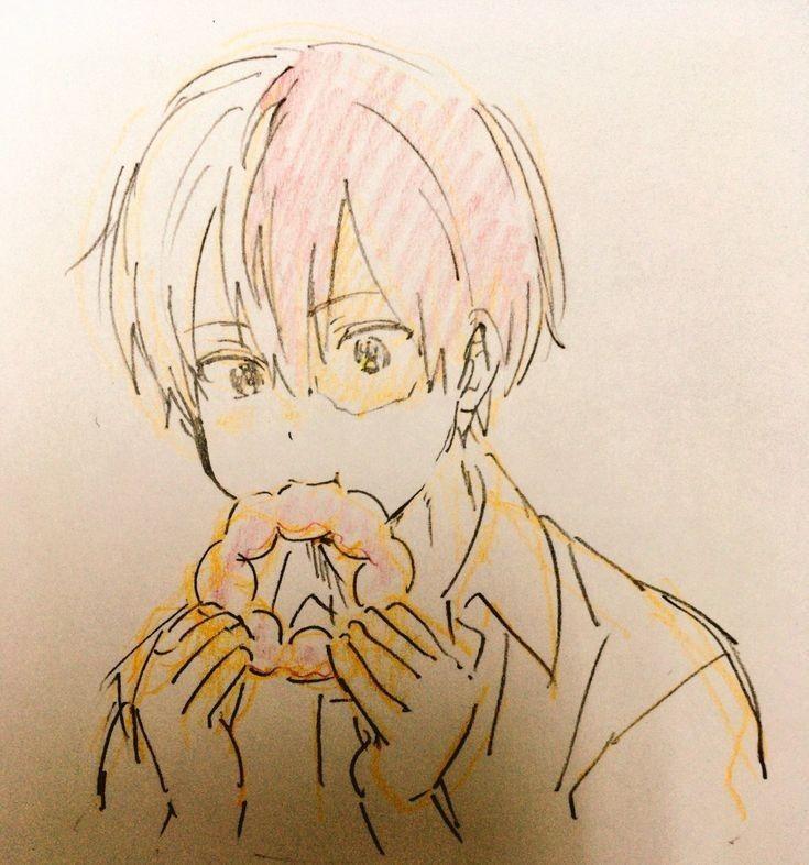 Shoto Todoroki Hero Anime Anime Sketch
