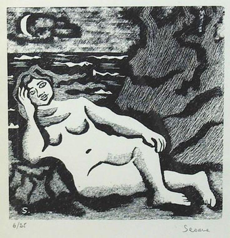 Desnudo, roca y mar : Luis Seoane