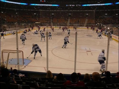 Toronto Maple Leafs game in Toronto
