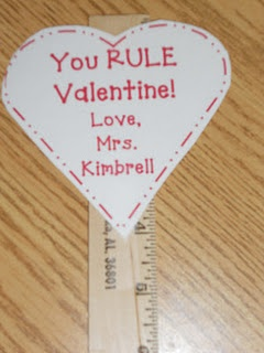 Valentine for students