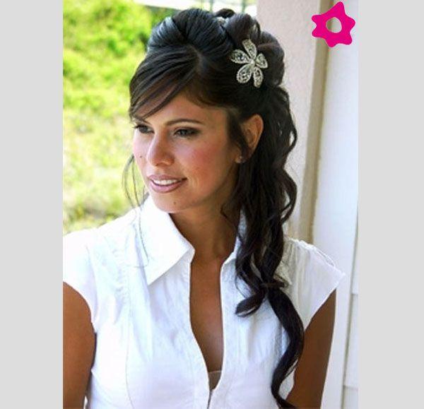 Peinados: Semirecogidos para novias 2012. #Bodas