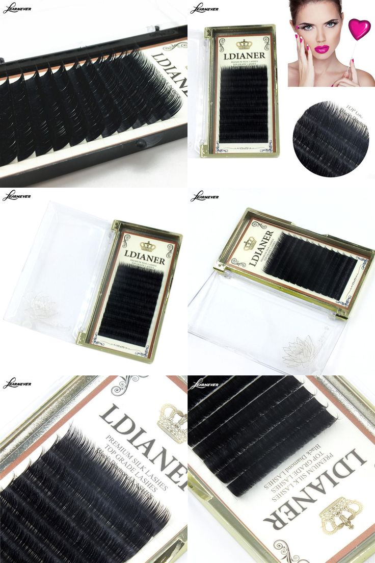 [Visit to Buy] 8mm10mm/12mm/14mm Mixed Size Mink Individual False Eyelashes Fake Lash Semi Permanent Extensions M02685 #Advertisement