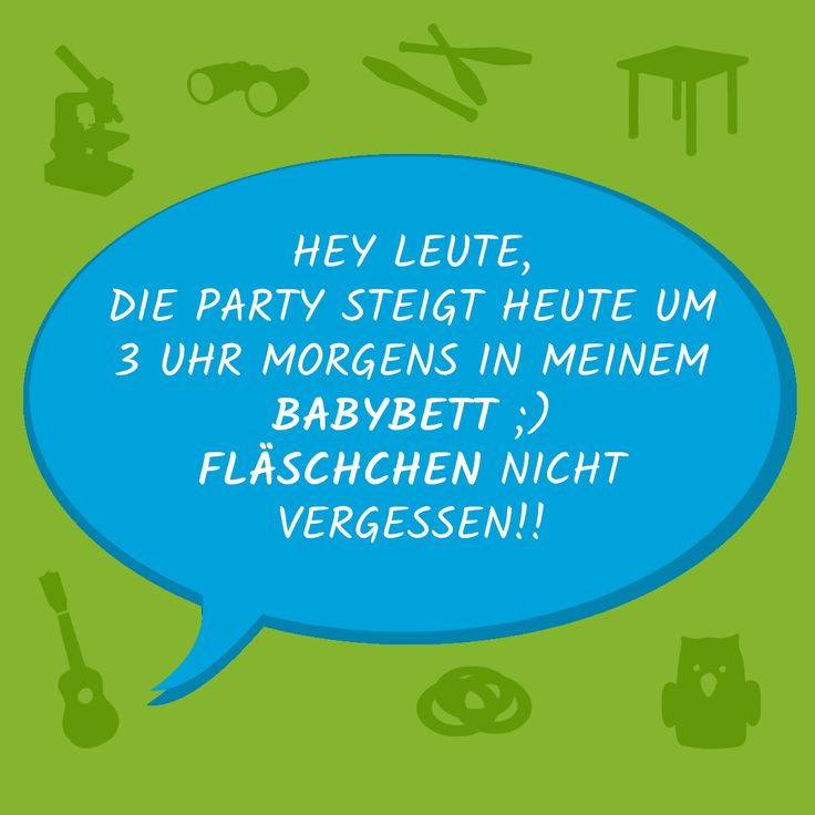 HAHAHAHA wartr Ihr auch schon mal auf so eine coole Party eingeladen ;);)  #edumero #edumerokindersprüche #edumeroquotes