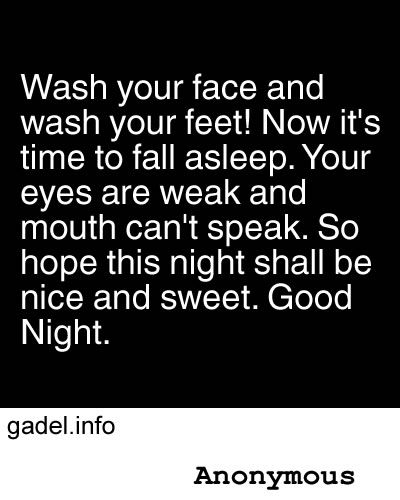 Funny Goodnight Quotes
