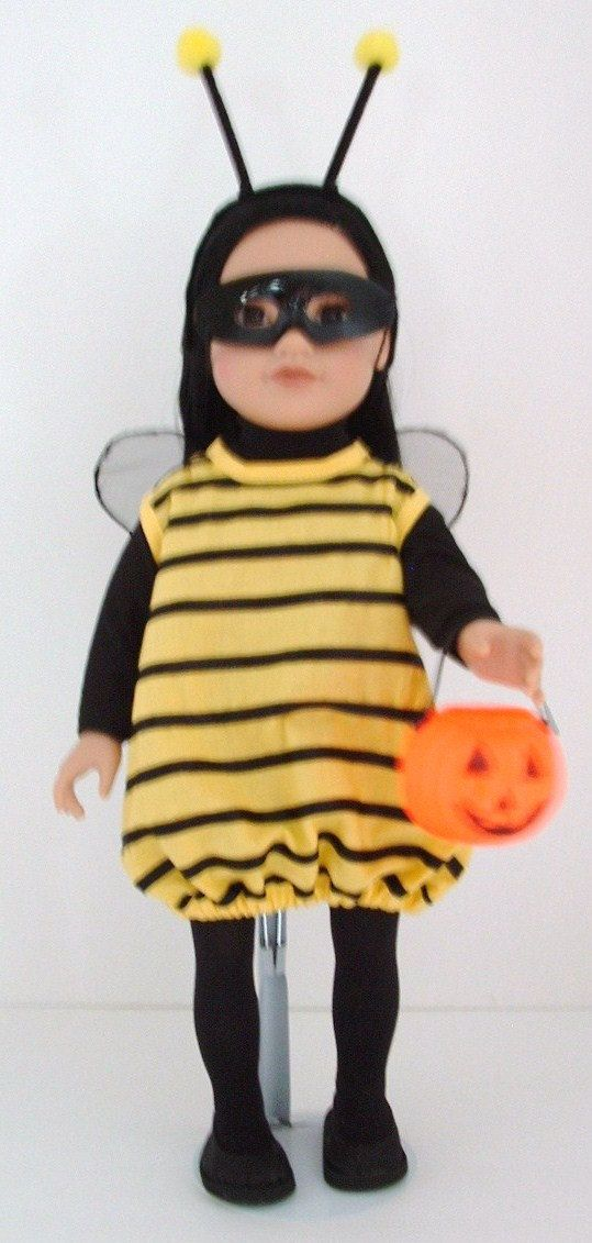 doll - Bumble Bee costume