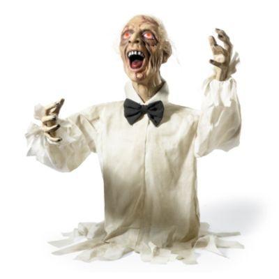 henry the zombie animated halloween prop - Animated Halloween Figures