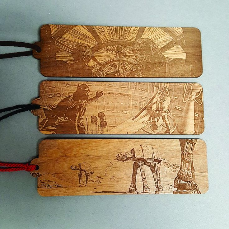 Star Wars Scene Bookmark With Tassel Laser Engraved Wood Battle Of Hoth Hyperdrive Luke Darth Vader In 2020 Laser Engraved Gifts Laser Engraving Laser Engraved Ideas